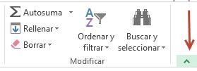 Minimizar cinta opciones