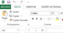 El entorno de Excel